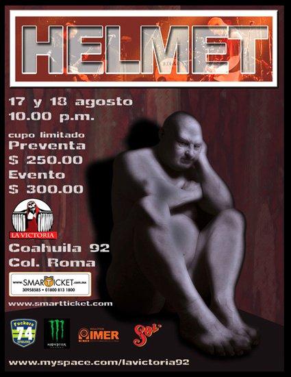 Helmet en ciudad de México.